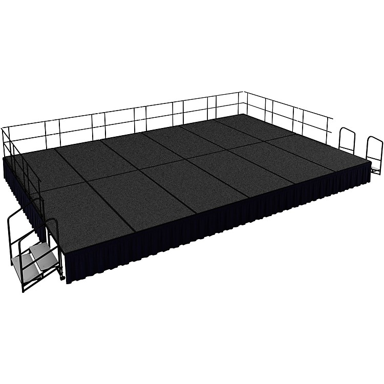 National Public Seating 16' x 24' Stage Package, 24