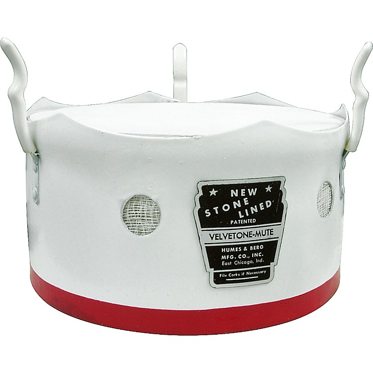 Humes & Berg 160 Tenor Trombone Bucket Mute  8 in.