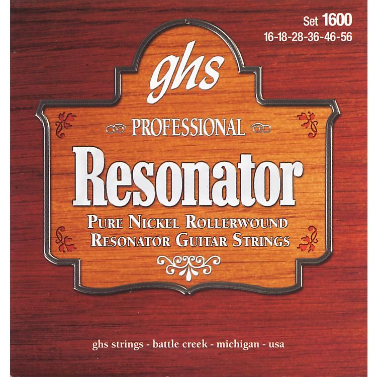 GHS1600 Acoustic Slide Guitar Strings