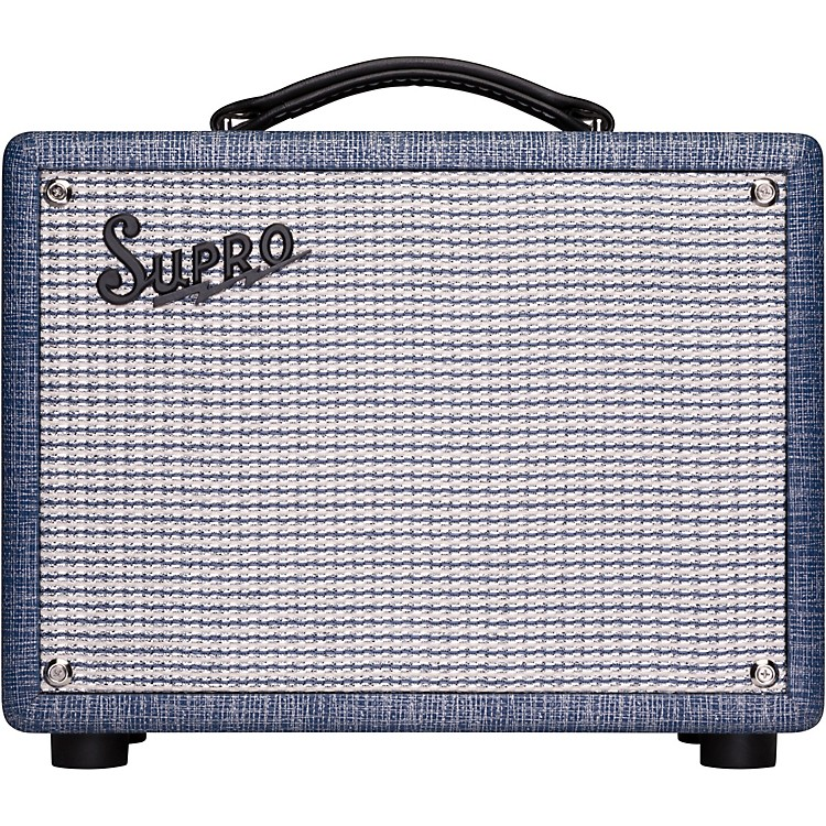 supro 1605r reverb 5w 1x8 tube guitar combo amp music123. Black Bedroom Furniture Sets. Home Design Ideas
