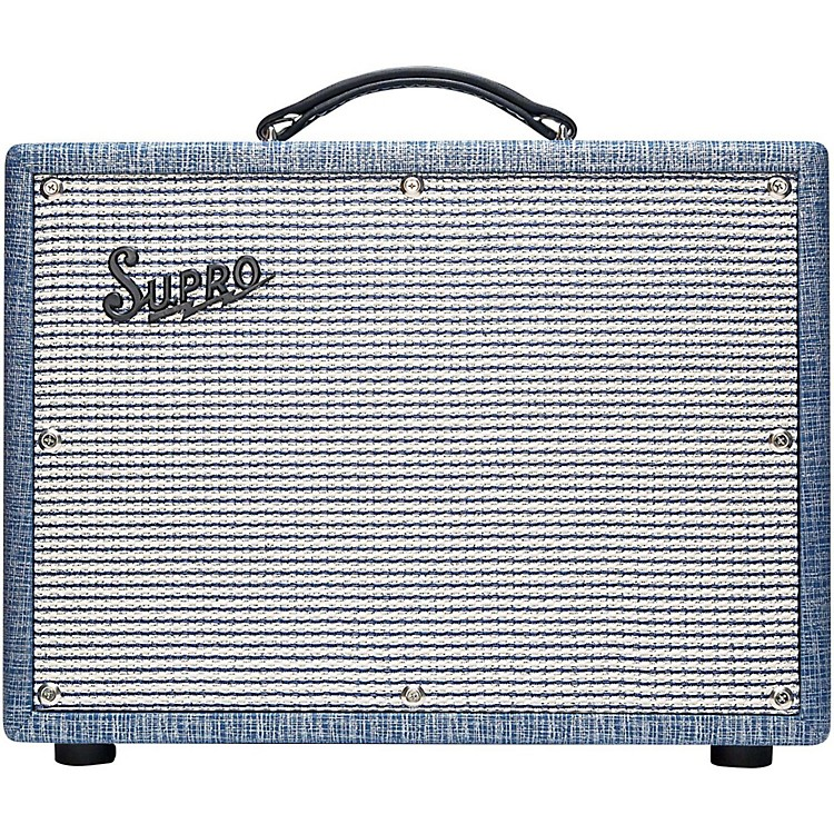 Supro1622RT Tremo-Verb 25W 1x10 Tube Guitar Combo Amp