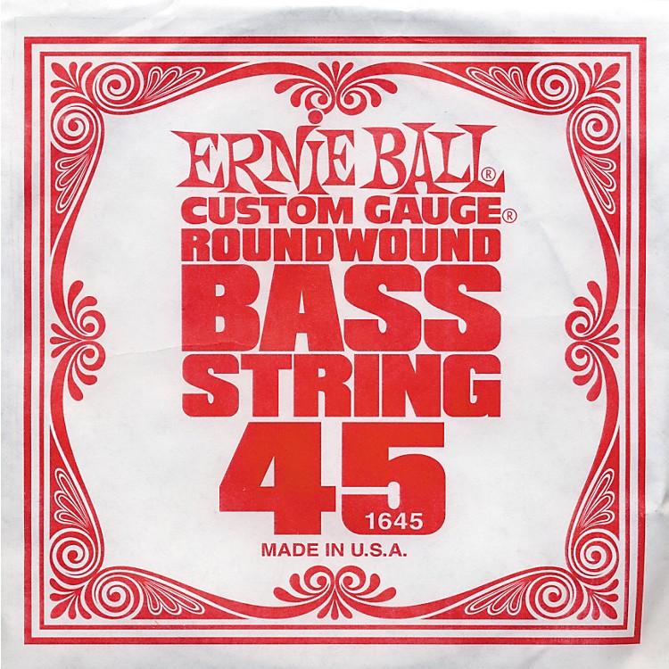 Ernie Ball1645 Single Bass Guitar String