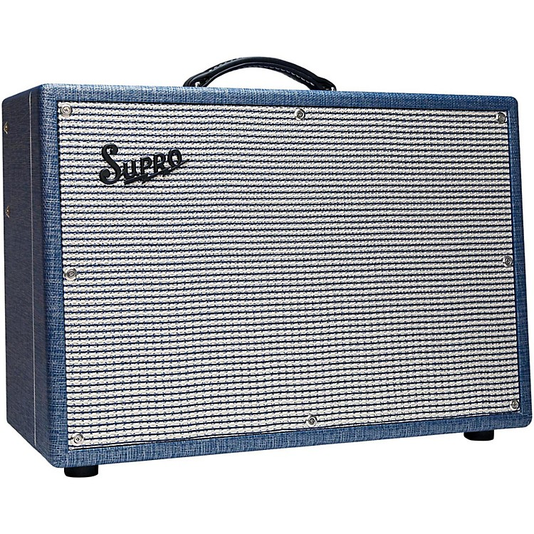 Supro1648RT Saturn Reverb 15W 1x12 Tube Guitar Combo Amp888365781426
