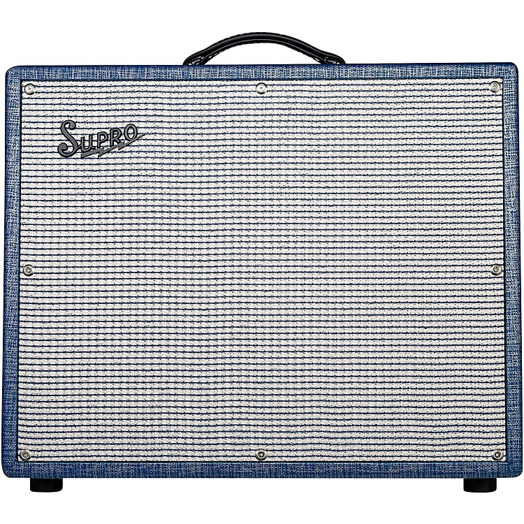 Supro1675RT Rhythm Master 35/45/60W 1x15 Tube Guitar Combo Amp