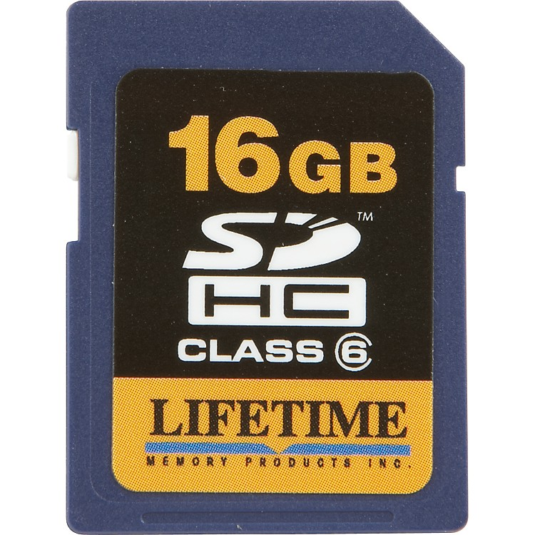 Lifetime Memory Products16GB Secure Digital Card