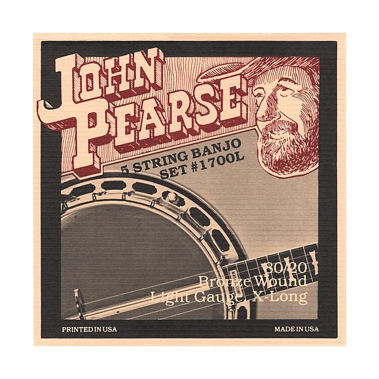 John Pearse1700L Light Banjo Strings