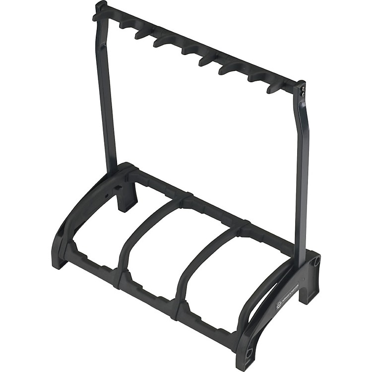 K&M 17513.016.00 Guardian 3 Guitar Stand Rack-style (3 Guitars) Black
