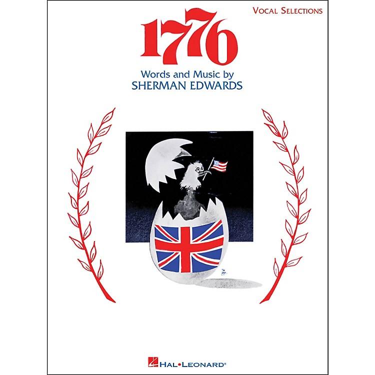 Hal Leonard1776 Vocal Selections arranged for piano, vocal, and guitar (P/V/G)