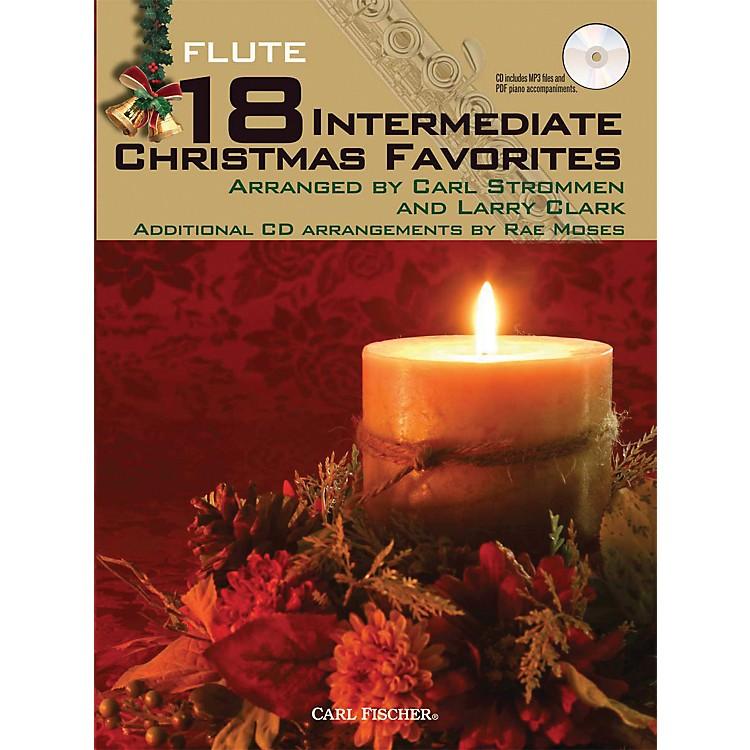 Carl Fischer18 Intermediate Christmas Favorites - Flute Book/CD