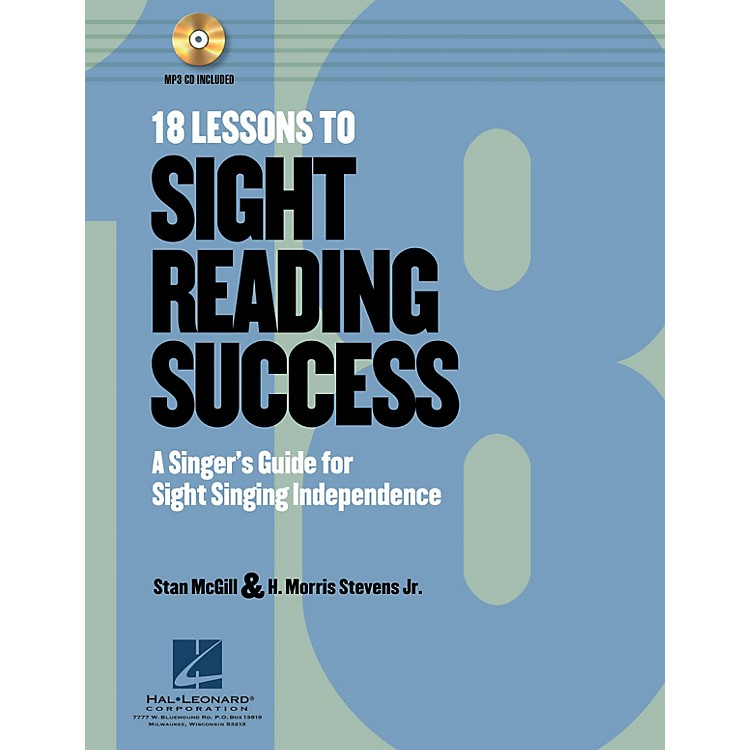Hal Leonard 18 Lessons to Sight-Reading Success Book and CD pak