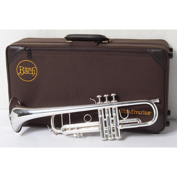 Bach180MLV Stradivarius Vindabona Series Bb Trumpet180SMLV Silver886830264757