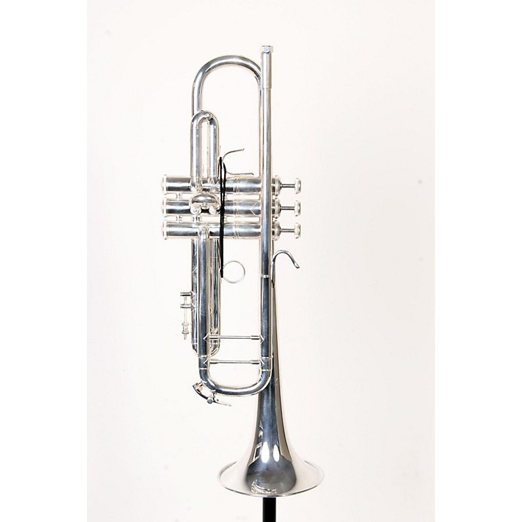 Bach 180S37 Stradivarius Series Bb Trumpet Silver, Yellow Brass Bell 888365903576