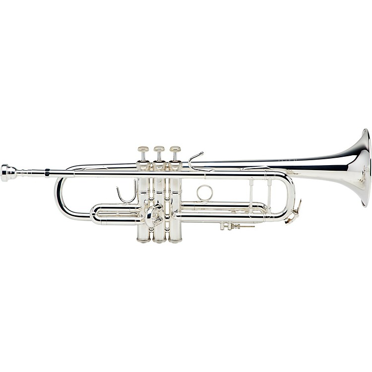Bach 180S37 Stradivarius Series Bb Trumpet Silver Yellow Brass Bell