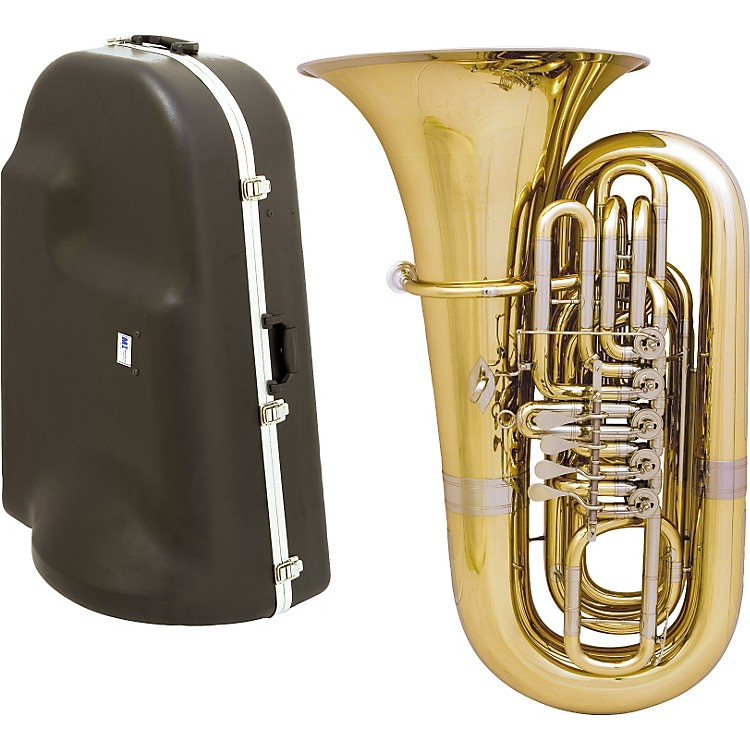 Miraphone191 Series 4-Valve BBb Tuba with Hard Case