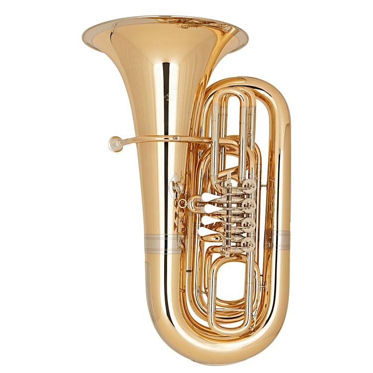 Miraphone191 Series 5/4 BBb Tuba191-4V Gold Brass 4 Valves Nickel Silver Slides