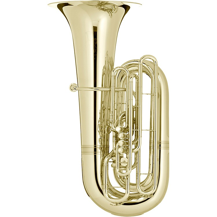 Meinl Weston 195/5P Fafner Series 5-Valve 5/4 BBb Tuba Silver plated
