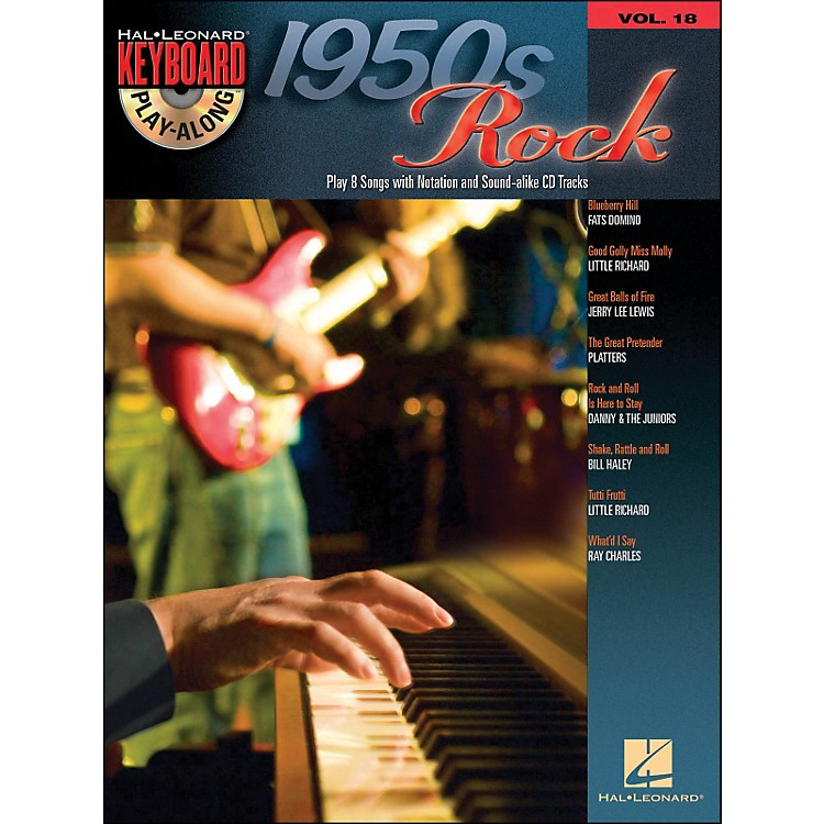 Hal Leonard1950S Rock - Keyboard Play-Along Volume 18 (Book/CD)