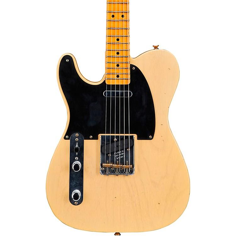 Fender Custom Shop1951 Journeyman Nocaster Left Handed Electric GuitarFaded Blonde