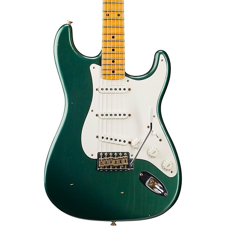 Fender Custom Shop1955 Journeyman Relic Stratocaster - Custom Built - NAMM Limited EditionFaded Aged Sherwood Green
