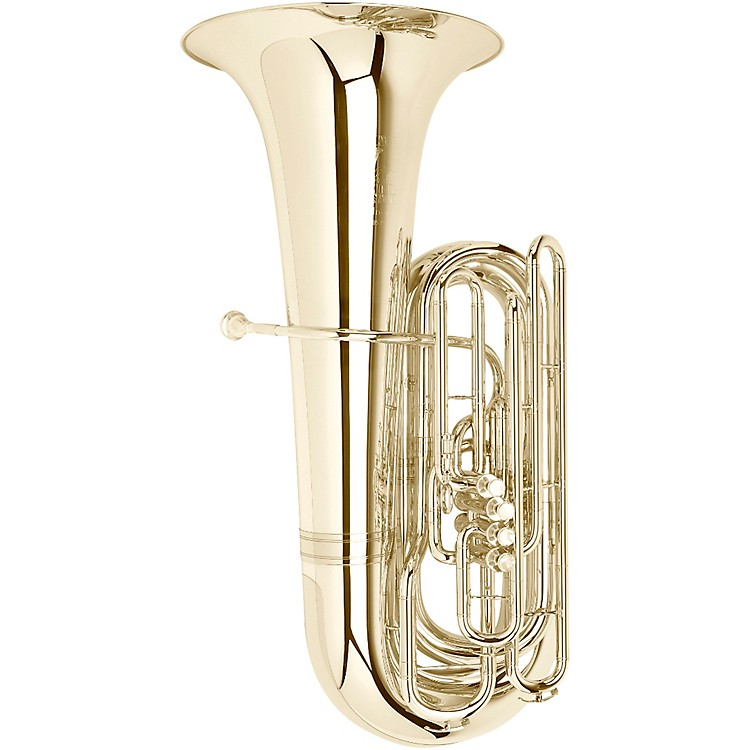 Meinl Weston 195P Fafner Series 4-Valve 5/4 BBb Tuba Silver plated