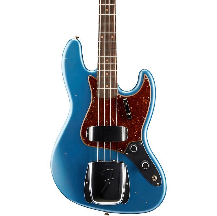 Fender Custom Shop1960 Journeyman Relic Jazz BassFaded/Aged Lake Placid Blue