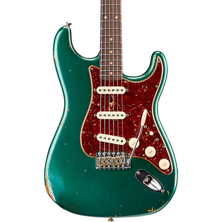 Fender Custom Shop1960 Roasted Relic Stratocaster Electric GuitarAged Shoreline Gold