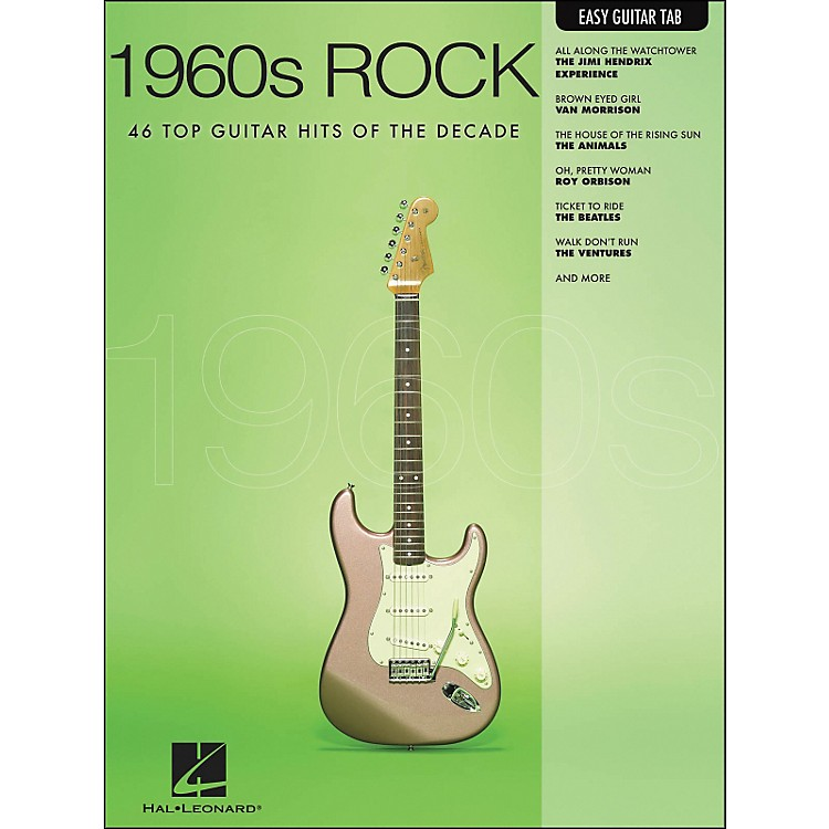 Hal Leonard 1960s Rock Easy Guitar Tab