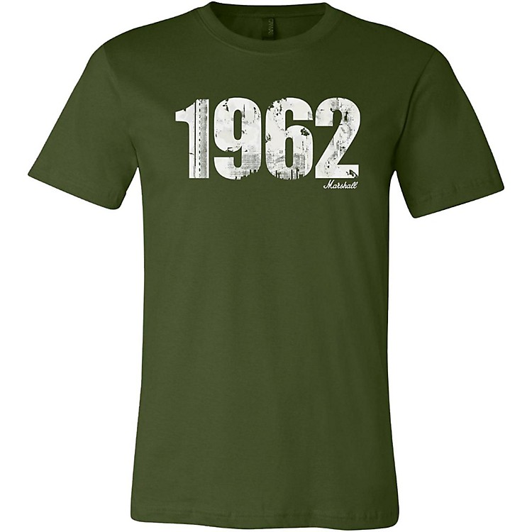 Marshall1962 Soft Style Ring Spun Cotton T-ShirtVintage OliveLarge