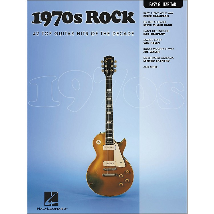 Hal Leonard 1970s Rock Easy Guitar Tab