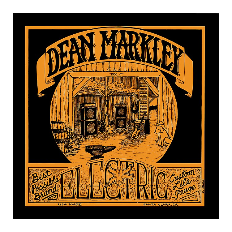 Dean Markley1978 Vintage Electric Reissue Custom Light Electric Guitar Strings