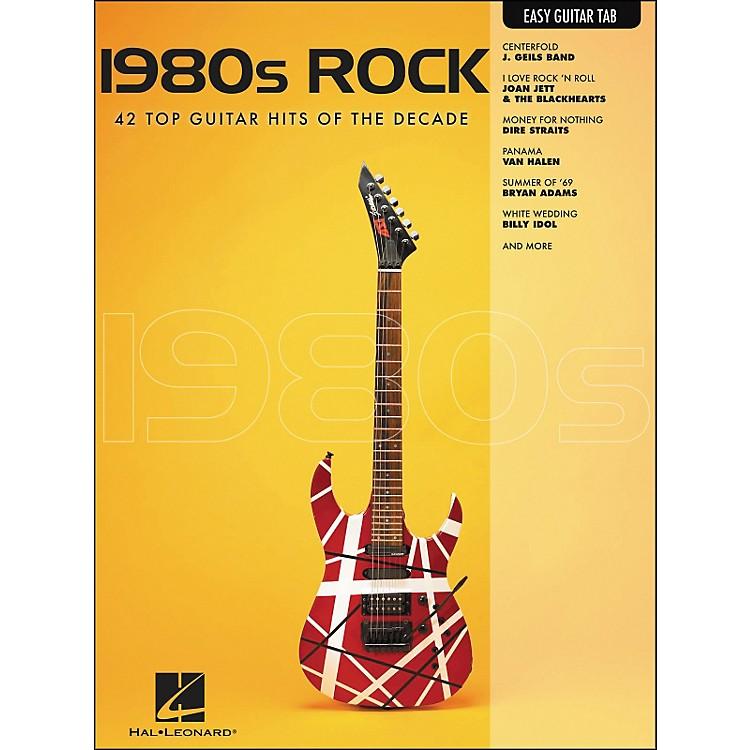 Hal Leonard1980s Rock Easy Guitar Tab