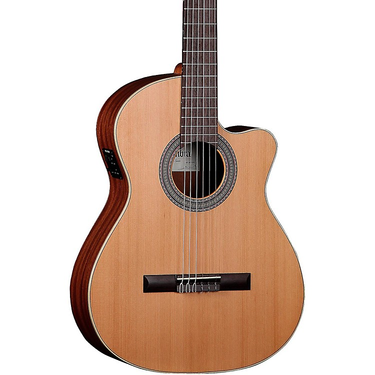 Alhambra1O P CW Classical Acoustic-Electric GuitarNatural