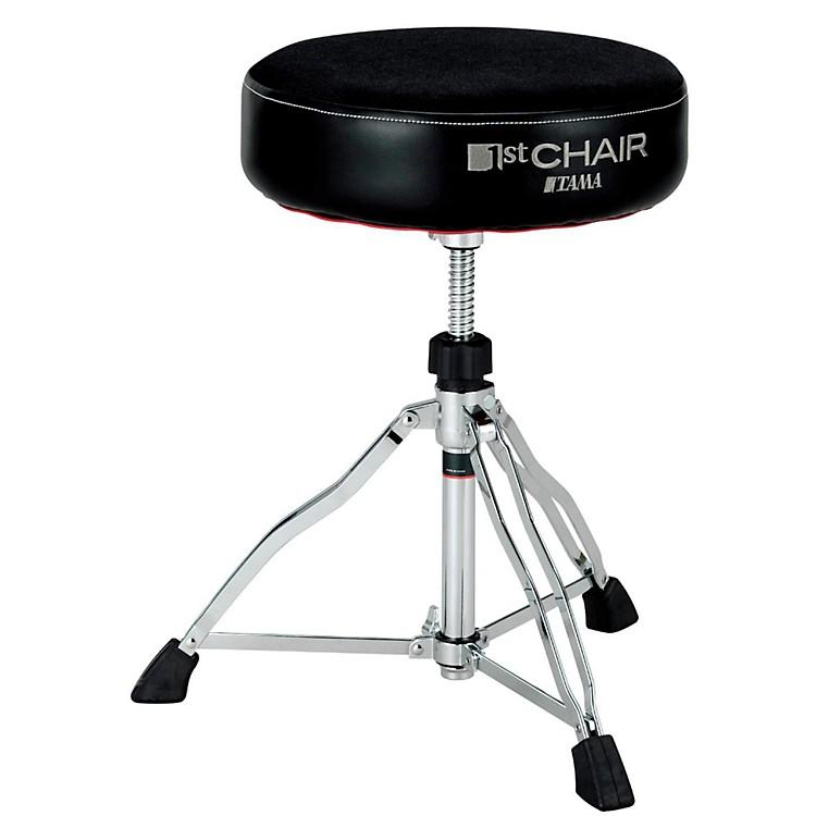 Tama1st Chair Round Rider Drum Throne Cloth topBlack