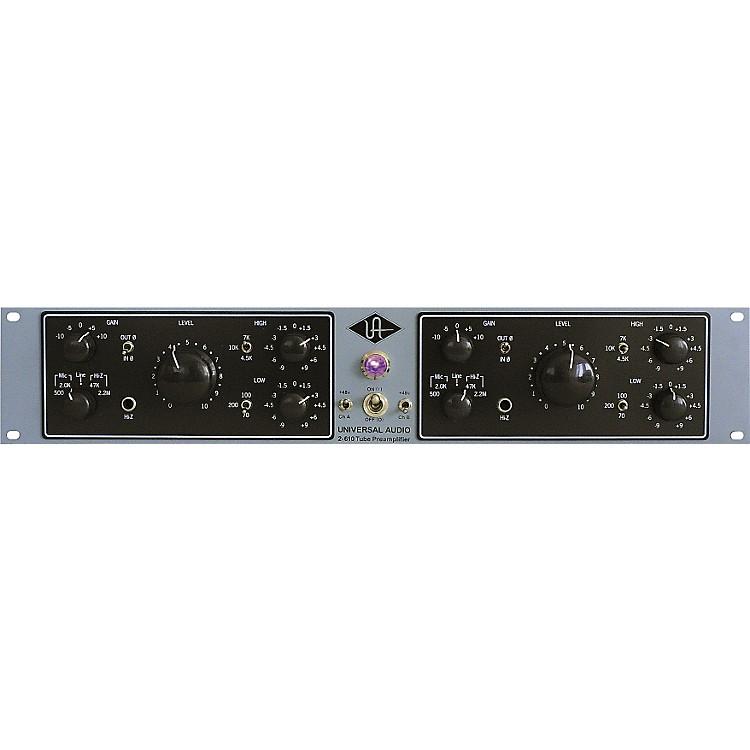 Universal Audio2-610 Silverface Dual Channel Mic Pre