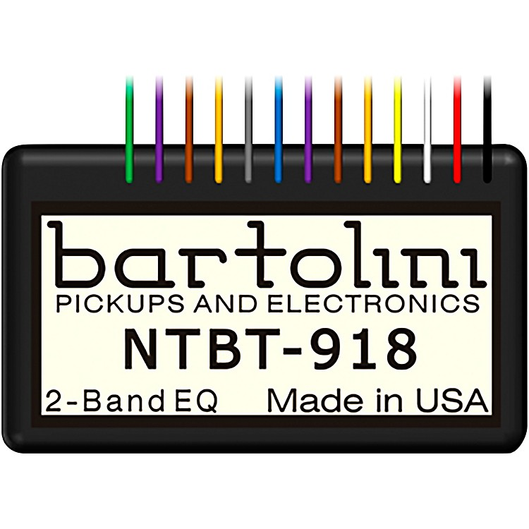 Bartolini2-Band Tone Control Pre-Amp