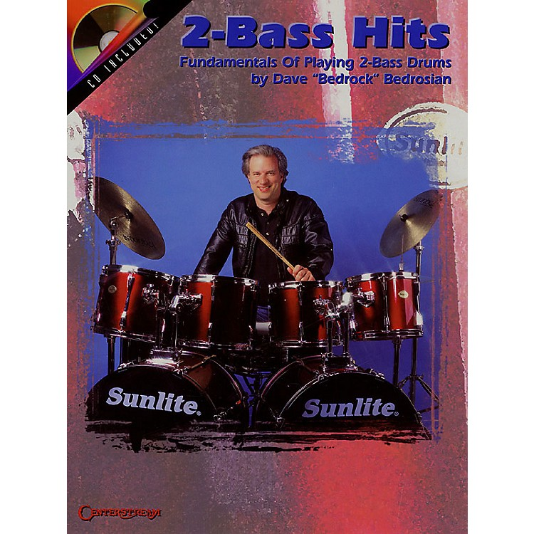 Centerstream Publishing2-Bass Hits (Fundamentals of Playing 2-Bass Drums) Percussion Series Softcover with CD