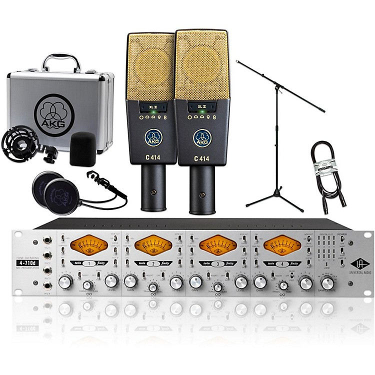 AKG2 C414 XL II with UA 4710D Package