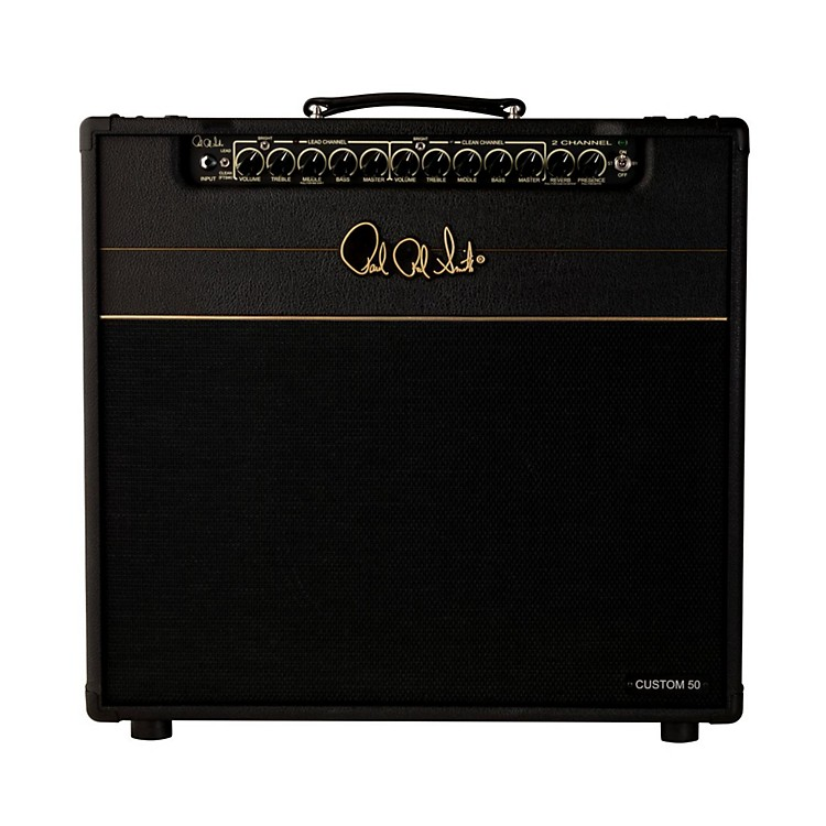 PRS2-Channel Custom 50 Tube Guitar Combo Amp Stealth888365777610