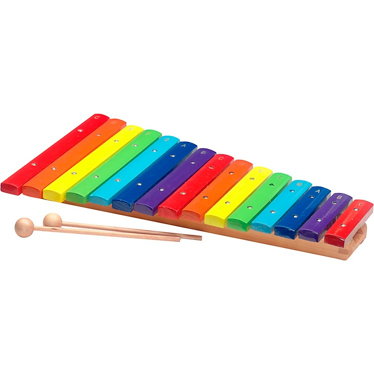 Stagg2 Octave Rainbow Xylophone, 15Keys, C-C