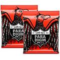 Ernie Ball 2 Pack- Paradigm Skinny Top Heavy Bottom Electric Guitar Strings Bundle