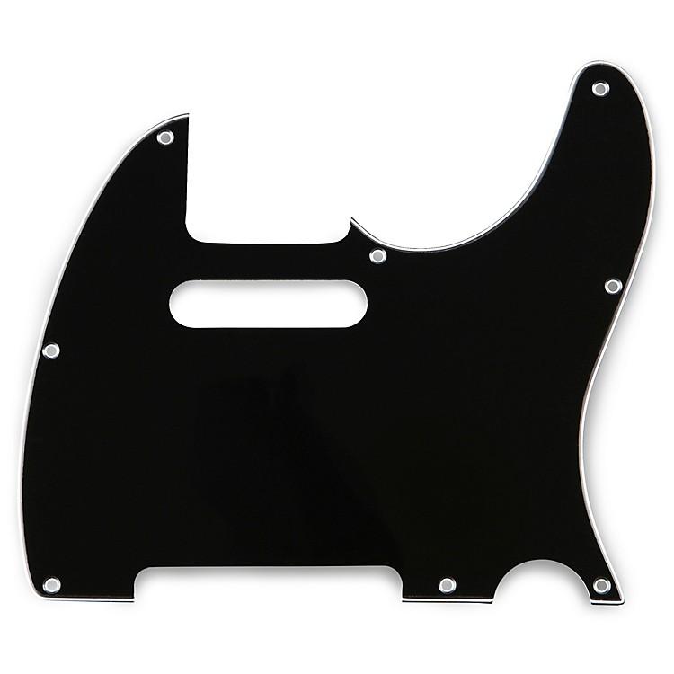 Musician's Gear2 Single-Coil Tele PickguardBlack