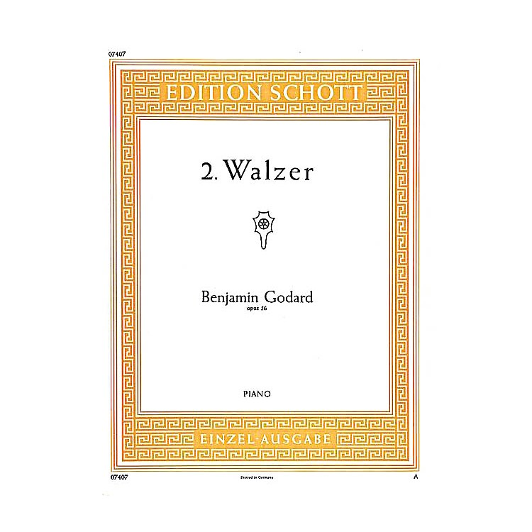 Schott2 Waltzes in B-flat Major, Op. 56 Schott Series