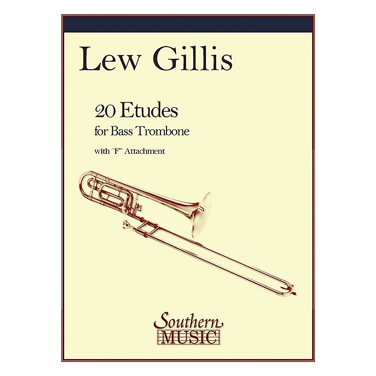 Southern20 Etudes for Bass Trombone (Bass Trombone) Southern Music Series Composed by Lew Gillis