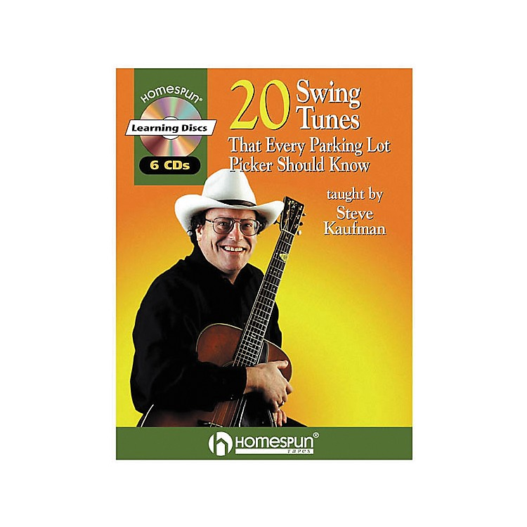 Homespun20 Swing Tunes That Every Parking Lot Picker Should Know Guitar Book with CD
