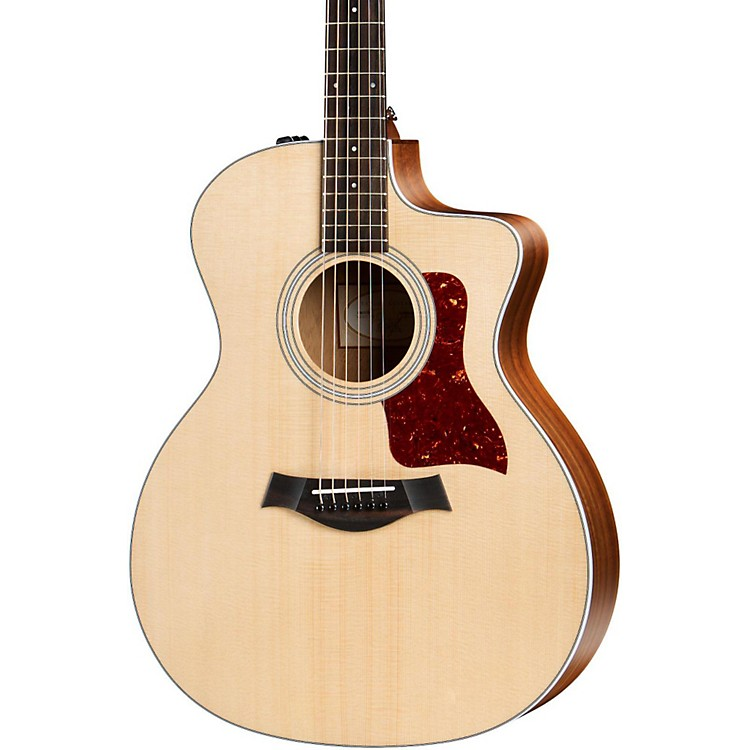 Taylor 200 Series 2017 214ce Grand Auditorium Acoustic-Electric Guitar Natural