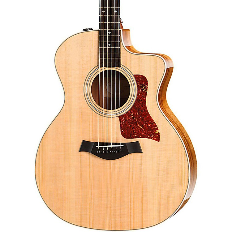 Taylor 200 Series 214ce Koa Deluxe Grand Auditorium Acoustic-Electric Guitar Natural