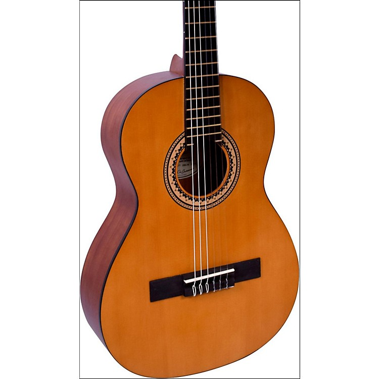 Valencia 200 Series 3/4 Size Hybrid Classical Acoustic Guitar Natural