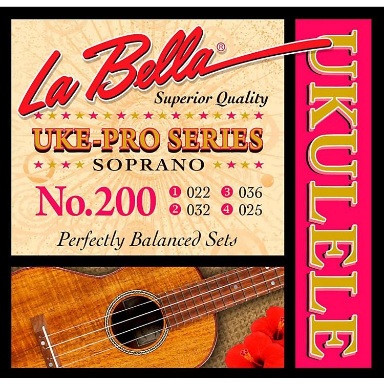 LaBella200 Uke-Pro Soprano Ukulele Strings