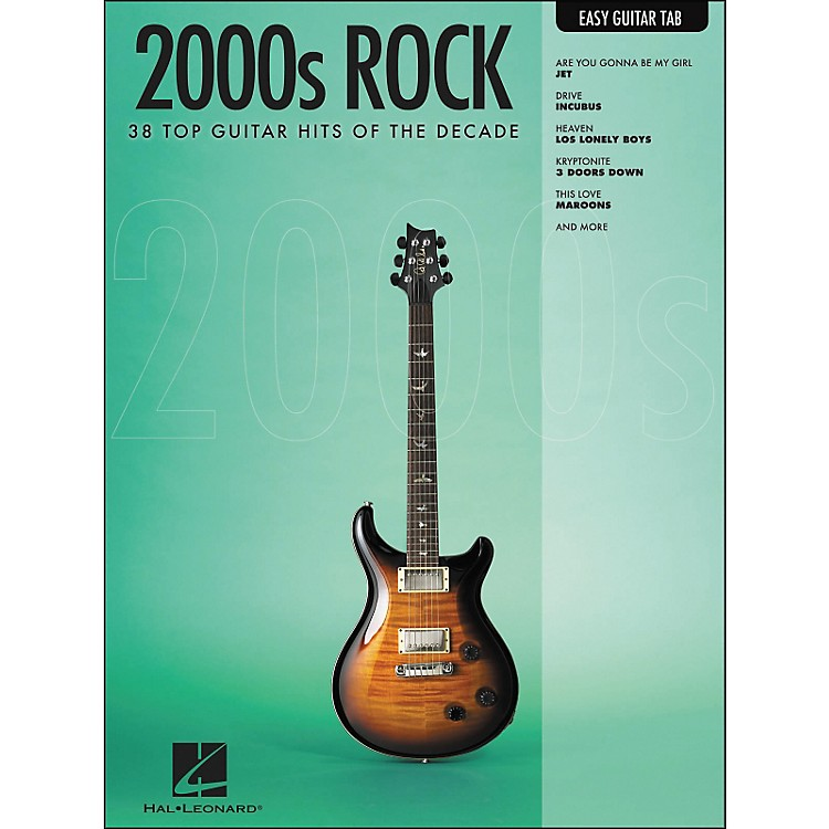 Hal Leonard 2000s Rock Easy Guitar Tab