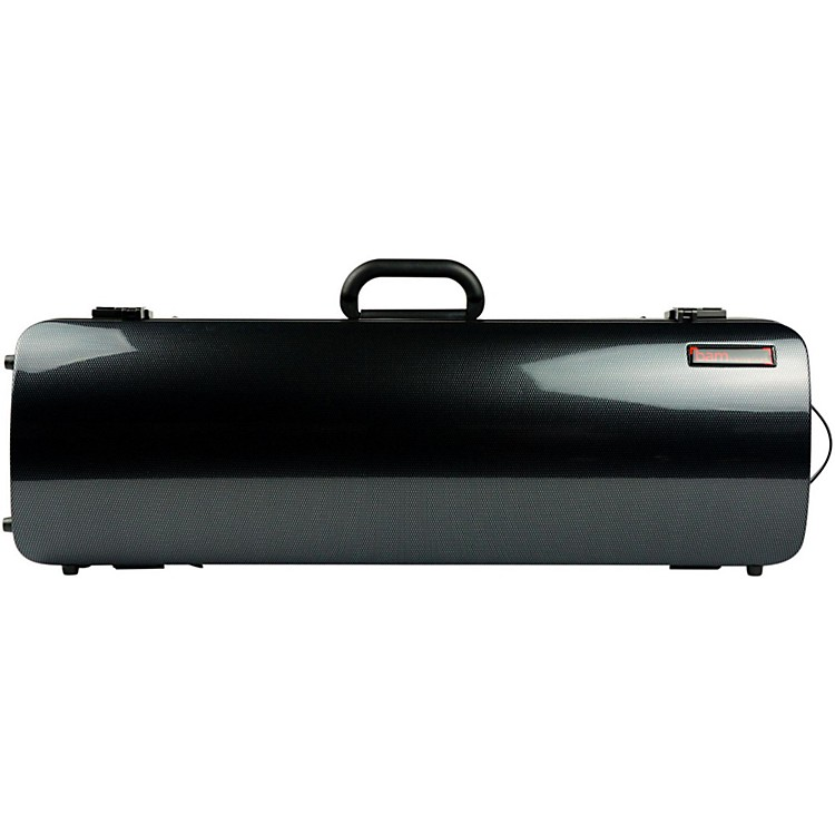 Bam 2001XL Hightech Oblong Violin Case without Pocket Black Carbon